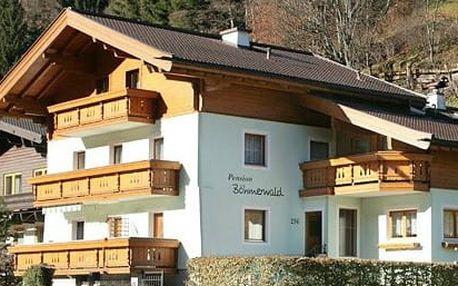 Rakousko - Saalbach / Hinterglemm na 4 až 8 dní, snídaně s dopravou vlastní