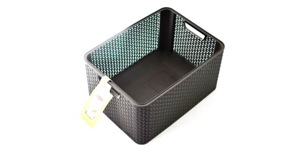 CURVER STYLE BOX 32299 Plastový úložný - L- hnědý3
