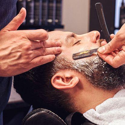 Potěšení pro pány: Střih či holení v barbershopu