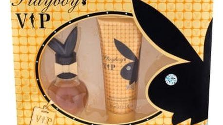 Playboy VIP For Her dárková kazeta pro ženy toaletní voda 30 ml + tělové mléko 75 ml