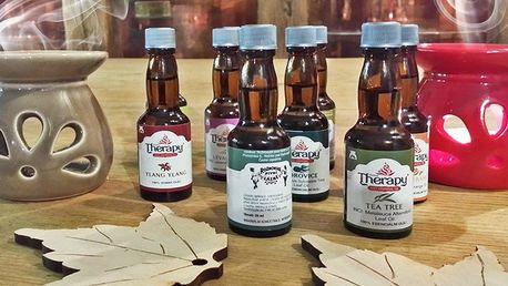 Přírodní vonné oleje do aromalamp i lékárniček