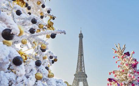 Adventní Paříž na 3 nebo 4 dny