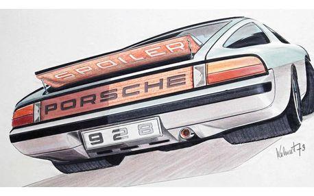 Výstava spoludesignéra Porsche Jiřího Kuhnerta