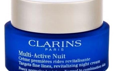 Clarins Multi-Active 50 ml noční pleťový krém proti vráskám pro ženy