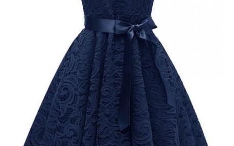 Dámské společenské šaty z krajky - 5 barev