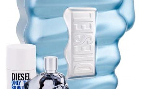Diesel Only The Brave dárková kazeta pro muže toaletní voda 75 ml + deostick 75 ml