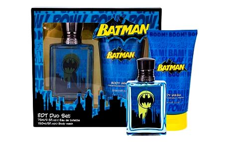 DC Comics Batman EDT dárková sada U - EDT 75 ml + sprchový gel 150 ml