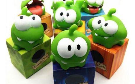 Populární gumová žába pro děti Om Nom