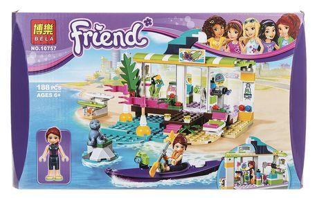 BELA Friends Stavebnice Surfařské potřeby - 188 ks