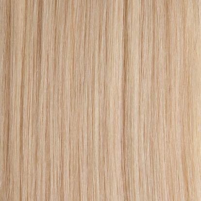 Vlasy s keratinem - 50 cm platinová blond