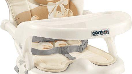 CAM Jídelní židlička Smarty s polstrováním Pop, col. 219