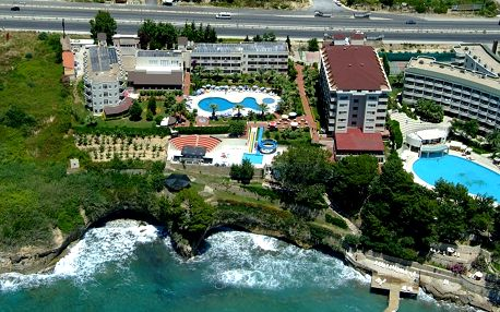 Turecko - Alanya na 8 dní, all inclusive s dopravou letecky z Prahy 250 m od pláže