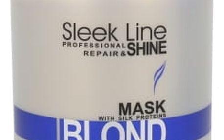 Stapiz Sleek Line Blond 1000 ml maska na vlasy pro ženy