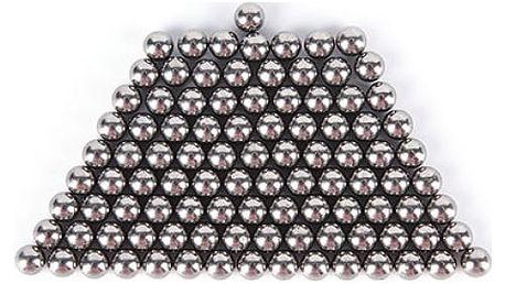 Magnetické kuličky z oceli - 100 kusů
