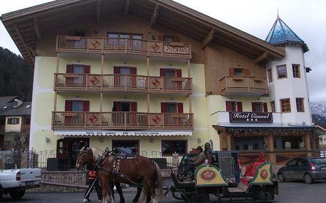 Itálie - Val di Fassa e Carezza na 6 až 7 dní, polopenze s dopravou autobusem