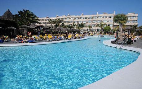 Kanárské ostrovy - Lanzarote na 8 až 15 dní, all inclusive, polopenze nebo snídaně s dopravou letecky z Vídně 50 m od pláže