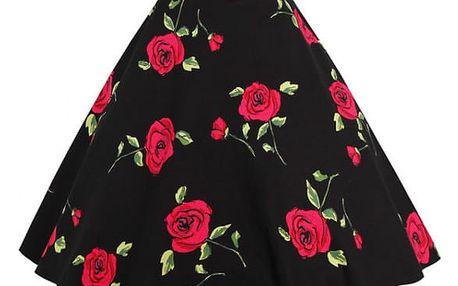 Retro kolová sukně - 8 variant