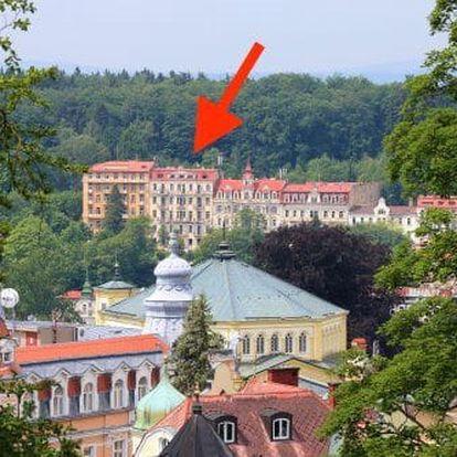 Lázeňská regenerace - oblíbené Mariánské Lázně s procedurami a polopenzí v hotelu Pramen