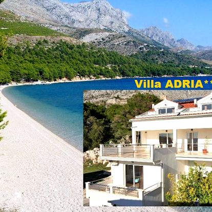 Chorvatsko levně Makarská Živogošče BLATO luxusní Villa ADRIA...