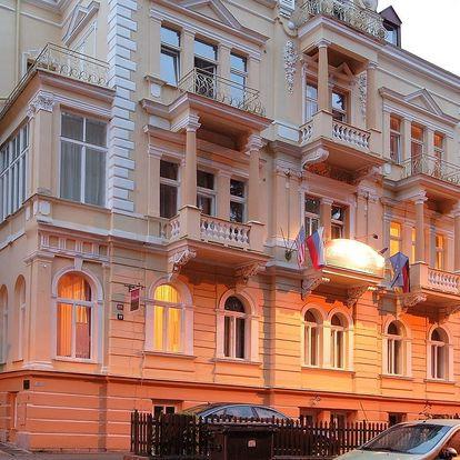Villa Gloria*** kousek od centra Mariánských Lázní se snídaní