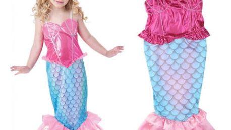 Dětský karnevalový kostým Mořská panna