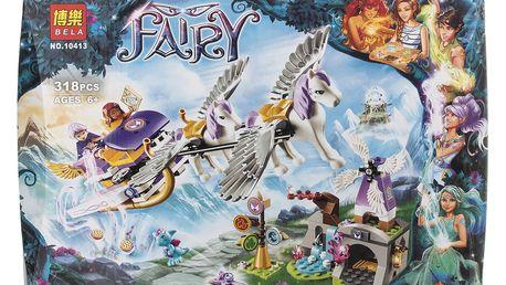BELA Fairy Stavebnice Azari a útěk ze Skřetího lesa - 318 ks