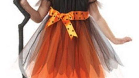 Dětský karnevalový kostým čarodějnice Halloween