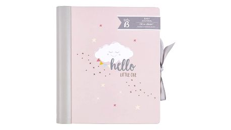 Busy B Deník miminka Baby B Pink, růžová barva, papír