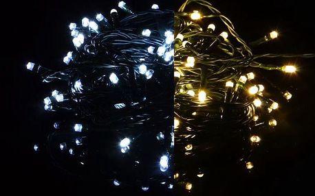 Nexos 39237 Vánoční světelný řetěz 200 LED - 9 blikajících funkcí - 19,9 m