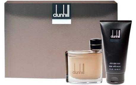 Dunhill Dunhill For Men dárková kazeta pro muže toaletní voda 75 ml + balzám po holení 150 ml