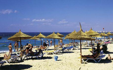 Tunisko - Sousse na 9 až 16 dní, all inclusive s dopravou letecky z Prahy přímo na pláži