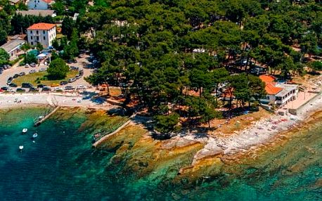 Chorvatsko - Istrie na 8 až 11 dní, bez stravy s dopravou autobusem nebo vlastní 150 m od pláže