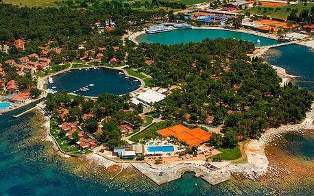 Chorvatsko - Umag na 8 až 11 dní, bez stravy s dopravou vlastní přímo na pláži