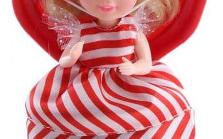 Vonící plastová panenka/Cupcake 15cm