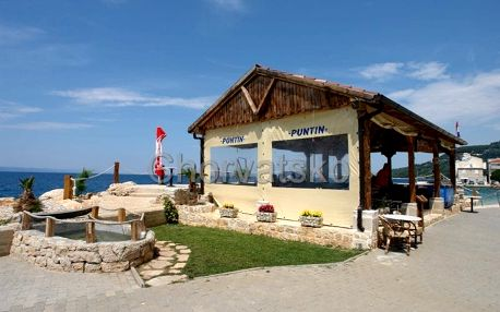 Chorvatsko - Makarská riviéra na 8 dní, bez stravy s dopravou vlastní 8 m od pláže