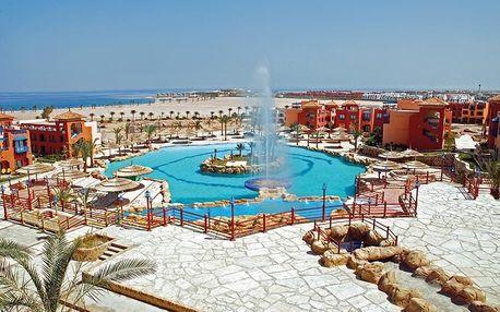 Egypt - Sharm El Sheikh na 8 až 15 dní, all inclusive s dopravou letecky z Prahy 500 m od pláže