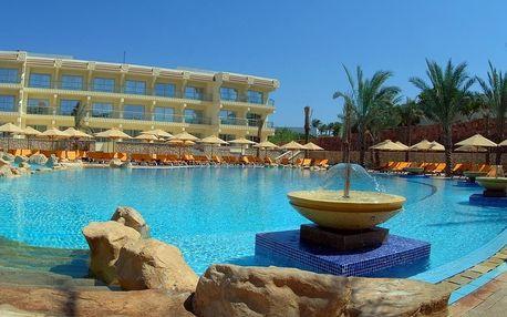Egypt - Sharm El Sheikh na 8 dní, all inclusive s dopravou letecky z Prahy přímo na pláži