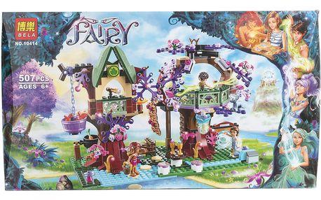 BELA Fairy Stavebnice Elfský úkryt v koruně stromu - 507 ks