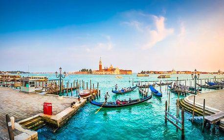 Benátky pohodlně se snídaní + děti zdarma