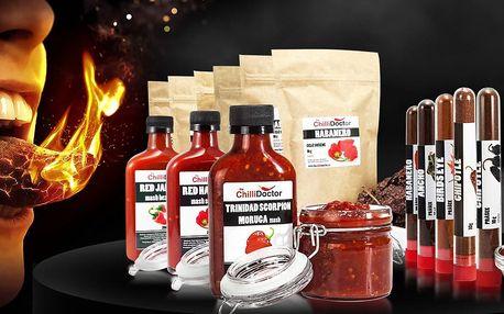 Balíček pro milovníky chilli: Ancho i Carolina Reaper