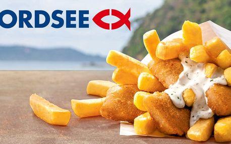 2× fish & chips z NORDSEE v Praze i Brně
