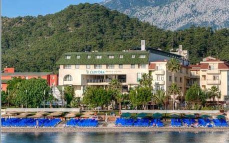 Turecko - Kemer na 8 dní, all inclusive s dopravou letecky z Prahy přímo na pláži