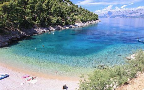 Chorvatsko - Hvar na 8 dní, bez stravy s dopravou vlastní 10 m od pláže