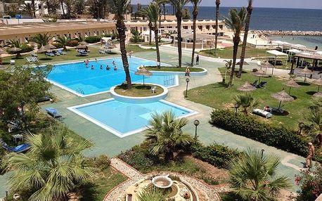 Tunisko - Monastir na 9 až 16 dní, polopenze s dopravou letecky z Prahy přímo na pláži