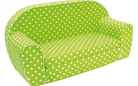 Bino mini pohovka, zelená