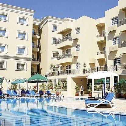 Egypt - Hurghada na 8 až 18 dní, all inclusive s dopravou letecky z Prahy 300 m od pláže