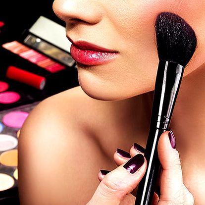 Kurz líčení pro začátečníky a mírně pokročilé v Praze. Naučíte se jak nanést a vybrat make-up.