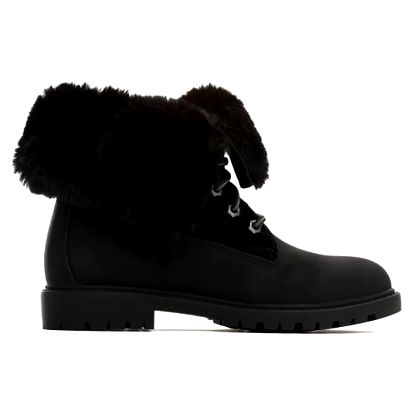 Dámské černé kotníkové boty Cami 030