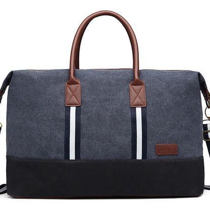 Námořnicky modrá cestovní taška Abba 6836
