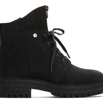 Dámské černé kotníkové boty Liam 053